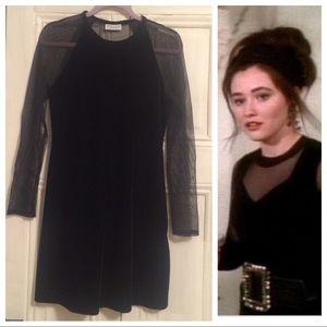 29d0c4743f Vintage Dresses - Vintage 90s Little Black Sexy Dress
